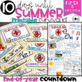 End of Year: Themed Days Classroom Countdown (Survival Kit) for 1-2