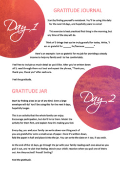10 Days of Gratitude eBook (for adults)