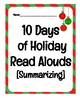 10 Days of Holiday Read Alouds