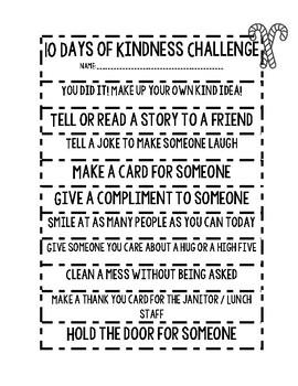 10 Days of Kindness