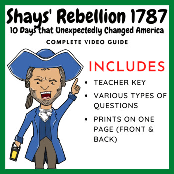 10 Days that Unexpectedly Changed America: Shays' Rebellion - January 25, 1787