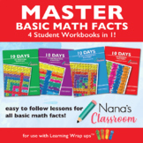 10 Days to Add, Subtract, Multiply and Divide Fact Mastery Bundle