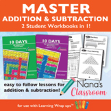 10 Days to Add, and Subtract, Fact Mastery Bundle