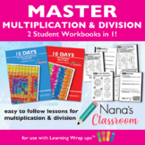 10 Days to Multiply and Divide Fact Mastery Bundle