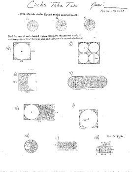 10+ Dbl Area Circles Trapezoids Triangles Irregular Figures Coordinate Geometric