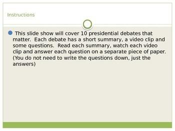 10 Debates that Matter