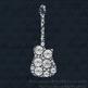 10 Diamond and Pearl Guitar Clip Arts