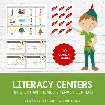 10 Disney Inspired Peter Pan Literacy Centers