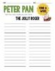 10 Disney Inspired Peter Pan Literacy Centers