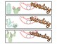 10 Drawer Cart Cactus Labels - EDITABLE!