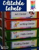 10 Drawer Storage Labels