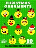 10 EMOJI ORNAMENTS | CHRISTMAS ORNAMENTS | CHRISTMAS CRAFTS
