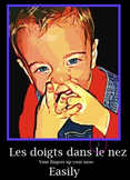 10 EXPRESSIONS IDIOMATIQUES ILLUSTREES+ 2 review games (French)