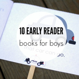 10 Guided Reading Books for Boys