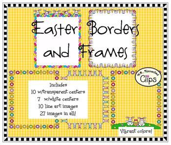 10 Easter Frames/Borders
