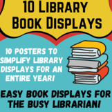 10 Easy Book Displays for the Busy Librarian!