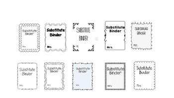 10 Edible Binder Covers