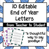 10 Editable Goodbye Letters to Student from Teacher 2020 H