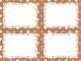 10 Editable Task Card Templates Sweet Gingerbread (Landsca