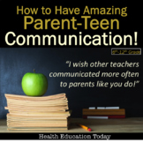 10 Effective Parent Communication Ideas for Any 6th-12th Grade Teacher!