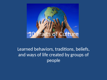 10 Elements of Culture