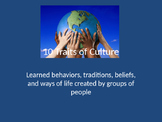 10 Elements of Culture