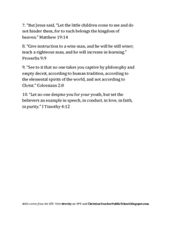 10 Encouraging Bible Verses for Teachers