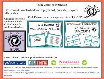 10 Engaging Low Prep Ways to Use Task Cards FREEBIE