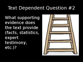 10 Essential Close Reading Text Dependent Questions (Non-Fiction) PowerPoint