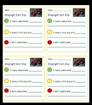 10 Exit Slip Templates