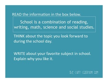 *10* Elementary Expository Prompts
