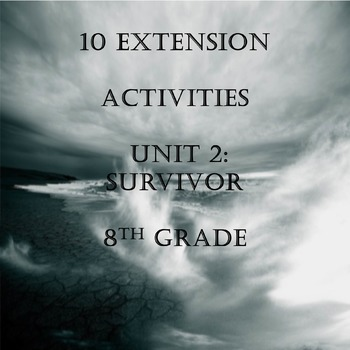 10 Extension Activities for Unit 2 Code X