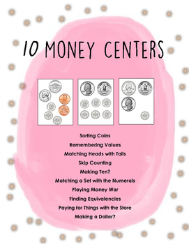 10 FANTASTIC Money Centers with 50+ pages