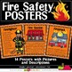 10 FIRE SAFETY POSTERS