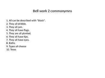 10 FREE Bell Starters
