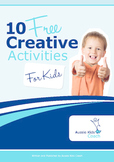 10 FREE Creative Activities for Kids