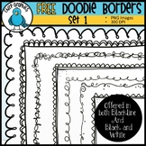 10 FREE Doodle Borders - Chirp Graphics