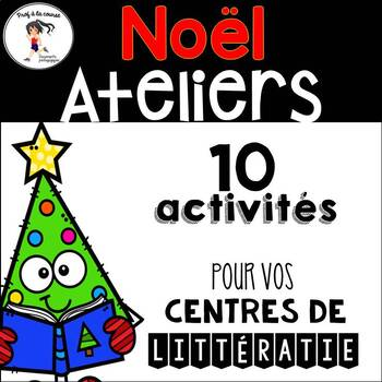10 FRENCH Christmas Centers/ 10 Ateliers de Noël - Français