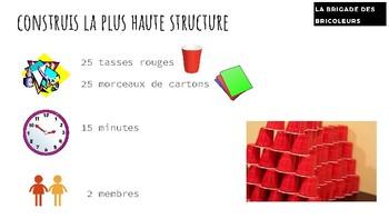 Bundle #2: 10 FSL Stem Challenge Cards for A1 Learners