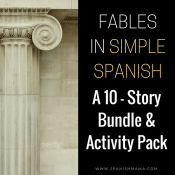 10 Fables in Spanish Bundle