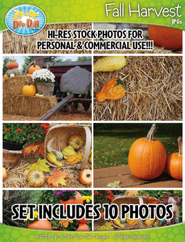 10 Fall Harvest Stock Photos Pack — Includes Commercial License!