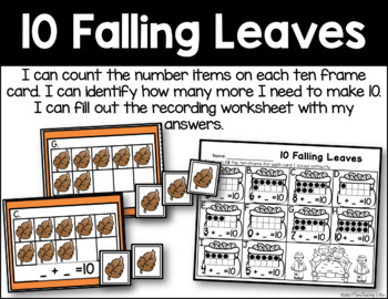 10 Falling Leaves - Addition to 10