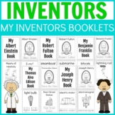 10 Famous Inventors Mini Science / History Writing Workbook