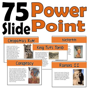 10 Famous Pharaohs of Egypt (interactive notebook, assessment, and more!)