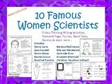 10 Famous Women Scientists