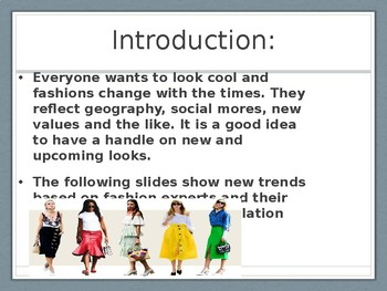 10 Fashion Trends in 2018.