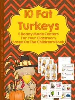 10 Fat Turkeys Center Pack