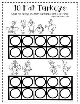 10 Fat Turkeys Math