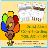 10 Fat Turkeys Subtraction Activities
