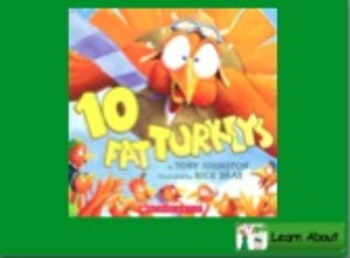 10 Fat Turkeys Vocab